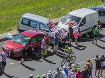 The Cyclist Rafal Majka - Tour de France 2016 Stock Photo