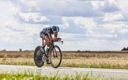 The Cyclist Richie Porte Royalty Free Stock Photo