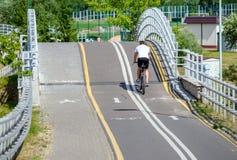 Cyclist ride on the bike