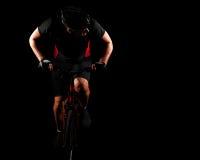 Cyclist Riding Bike Royalty Free Stock Image