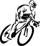 Cyclist Royalty Free Stock Photos