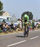 The Cyclist Robert Gesink Stock Image
