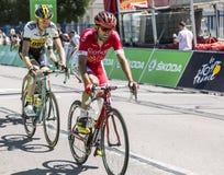 The Cyclist Robert Gesink - Tour de France 2015 Stock Photos