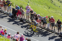 The Cyclist Romain Sicard - Tour de France 2016 Royalty Free Stock Photo