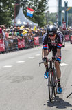 The Cyclist Roy Curvers - Tour de France 2015 Royalty Free Stock Images