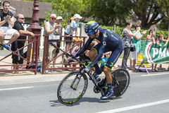 The Cyclist Ruben Plaza Molina - Tour de France 2014 Royalty Free Stock Photography