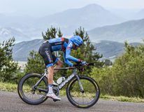 The Cyclist Ryder Hesjedal Stock Image