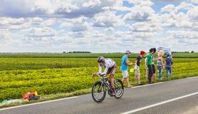 The Cyclist Sebastien Minard Royalty Free Stock Image