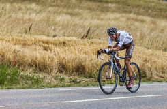 The Cyclist Sebastien Minard Stock Photos