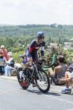The Cyclist Sebastien Reichenbach - Tour de France 2014 Royalty Free Stock Image