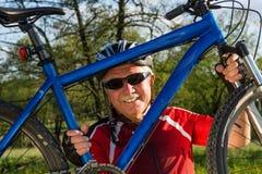Cyclist Stock Photo