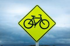 Cyclist sign Stock Photos