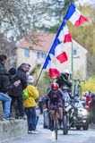 The Cyclist Simon Geschke - Paris-Nice 2016 Royalty Free Stock Photos