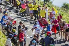 The cyclist Steve Morabito - Tour de France 2016 Royalty Free Stock Image
