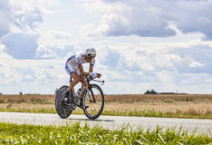 The Cyclist Thibaut Pinot Stock Photo