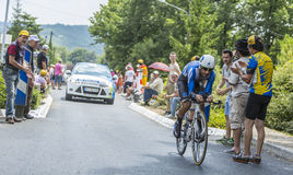 The Cyclist Tiago Machado - Tour de France 2014 Stock Images