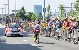 The Cyclist Tiago Machado - Tour de France 2015 Stock Photo