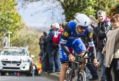 The Cyclist Tom Boonen - Paris-Nice 2016 Stock Photo