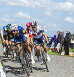 The Cyclist Tom Boonen - Paris Roubaix 2016 Stock Photo