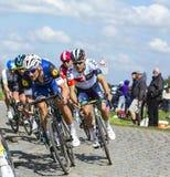 The Cyclist Tom Boonen - Paris Roubaix 2016 Stock Photo