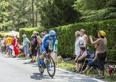 The Cyclist Tom-Jelte Slagter - Tour de France 2014 Stock Photos