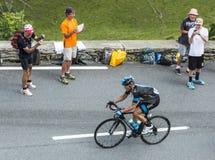 The Cyclist Vasili Kiryienka Stock Images