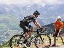 The Cyclist Vasili Kiryienka Royalty Free Stock Photos