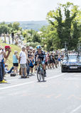 The Cyclist Vasili Kiryienka - Tour de France 2014 Stock Images