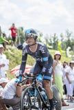 The Cyclist Vasili Kiryienka - Tour de France 2014 Stock Images