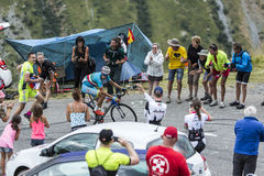 The Cyclist Vincenzo Nibali - Tour de France 2015 Stock Photography