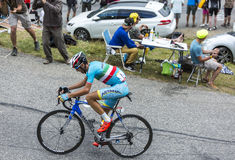 The Cyclist Vincenzo Nibali - Tour de France 2015 Stock Photo