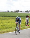 The Cyclist Vladimir Karpets Stock Photography