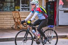 cyclist fotografie stock libere da diritti