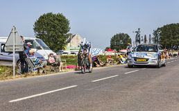 The Cyclist Wouter Poels Stock Images
