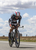 The Cyclist Yaroslav Popovych Royalty Free Stock Images