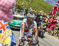 The Cyclist Yukiya Arashiro Stock Images