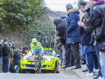 The Cyclist Yuri Viktorovich Trofimov - Paris-Nice 2016 Stock Photo
