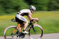 Cycliste Photos stock