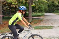 Cycliste Image libre de droits