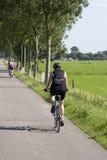 Cycliste photographie stock libre de droits