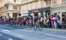 Cycliste, d'Italia de chèques postaux Images stock