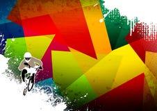 Cycliste de BMX Photo libre de droits