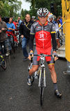 Cycliste Lance Armstrong Photo stock
