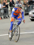 Cycliste Steven hollandais Kruijswijk de Rabobank Photo libre de droits