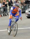 Cycliste Steven hollandais Kruijswijk de Rabobank photo libre de droits