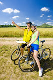 Cyclistes Photo libre de droits