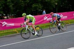 Cyclistes Photos stock