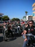 Cyclistes Photographie stock libre de droits