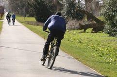Cyclistes Image libre de droits
