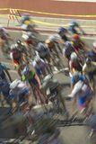 Cyclistes amateurs d'hommes concurrençant dans le circuit d'emballage national de Garrett Lemire Memorial Grand Prix (NRC) le 10  Photo stock
